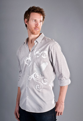 men's hawk dress shirt