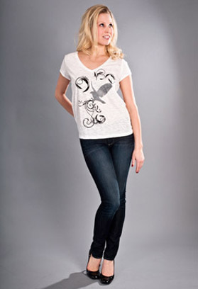 women's hawk t shirt